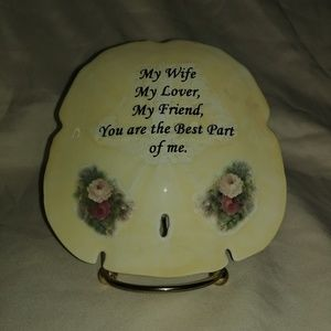Unknown Other - Sand Dollar Wind Up Music Gift for Wife